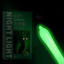 Preservativos de fluorescência zerosky preservativos especiais noctilucent 3 brilho no escuro preservativos + 4 preservativos ultrafinos produtos sexuais