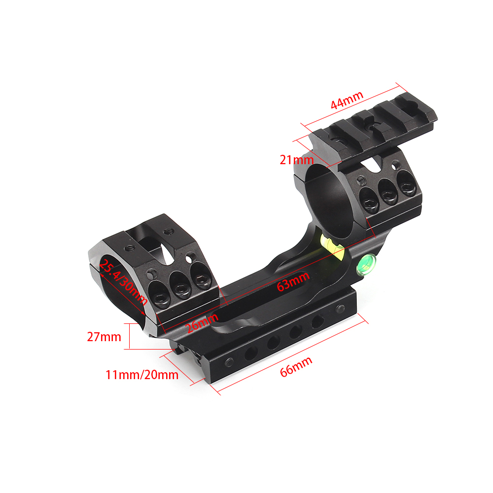 Aluminum Scope Mount Ring 25.4mm 30mm with Spirit Bubble Level Suit 11mm/20mm Picatinny Weaver Rail for HuntingAluminum Scope Mount Ring 25.4mm 30mm with Spirit Bubble Level Suit 11mm/20mm Picatinny Weaver Rail for Hunting