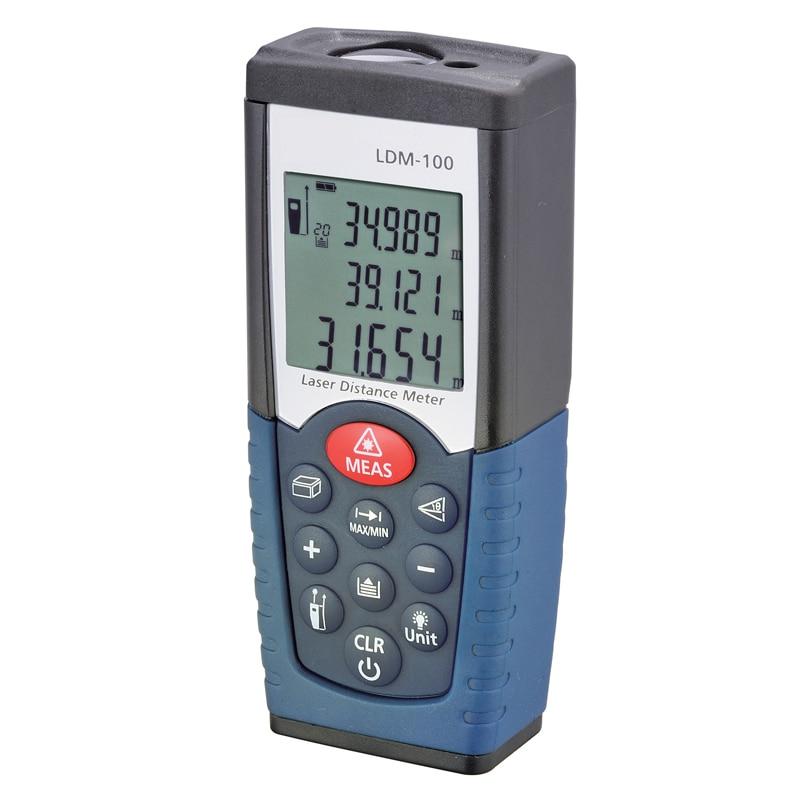 laser distance meter laser rangefinder distance measurer laser tape measure 50m lcd ultrasonic distance meter measurer tool laser pointer designator backlight rangefinder
