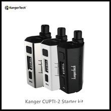 100% Original CLOCC SS316L 0.5ohm 5ml 80W CUPTI 2 KANGER Hot Starter Kit Kangertech Cupti2 All in one Design extend 510 Ecig Kit