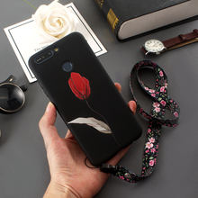 For Huawei Y7 Prime 2018 Case Silicone Super 3D Relief Rose Cartoon Soft TPU Phone Case For Huawei Y7 Prime 2018 Back Case Capa(China)