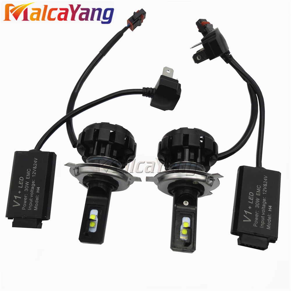 Automobile Headlamp Fog Light 12v V1 Super Bright Aut Led Car Headlight H7 LED H4 Hi/Low Light Bulb H1 H3 H11 9005/HB3 9006/HB4 2 pcs led car headlight bulb hi lo beam cob headlights 72w 8000lm 6500k auto headlamp 12v 24v fog light work head lamp h4 h7 h11