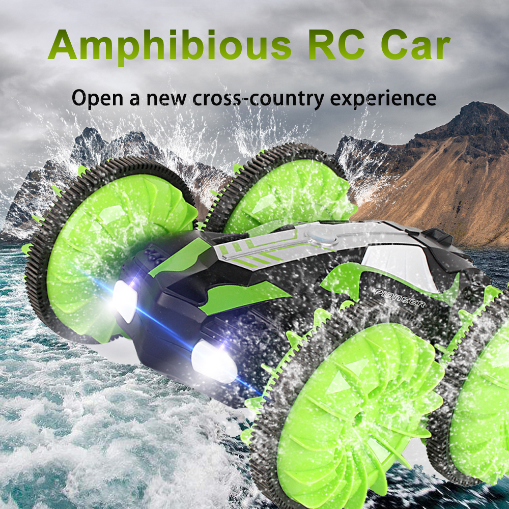 Waterproof Car LH-C013 2.4Ghz All Terrain RC Off Road Truck Racing Climbing RC Truck 4WD Toy Amphibious Car Remote Control
