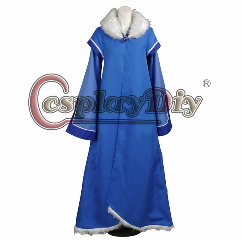 Cosplaydiy Avatar The Legend of Korra Season Two Desna Cosplay Costume Adult Halloween Carnival Outfit Custom Made