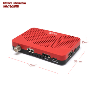 Image 3 - Vmade South America DVB S2 Satellite Receiver H.264 Digital TV Box HD DVB S2 MINI TV Tuner supports Youtube IPTV CCCAM Receptors