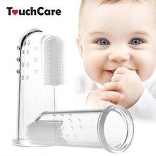 Денте escova лиственные gum infantil кисть массаж пальцев ясно baby зубная