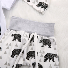 3PCS Set Newborn Infant Baby Clothing Set