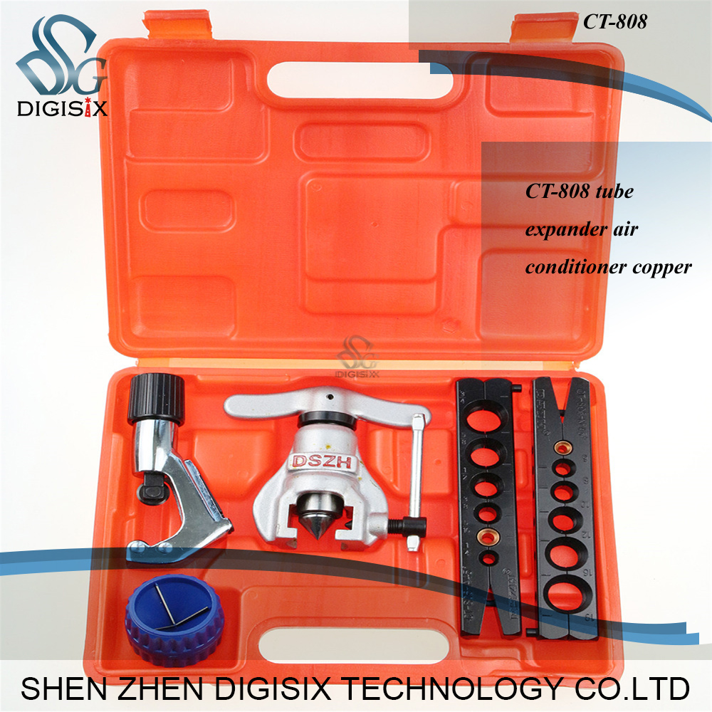 ФОТО Free shipping Refrigerant Tools CT-808 Copper Tube Expander Copper Pipe Reamer Tube Flaring Tool