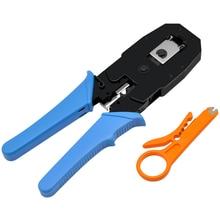 CNCOB Cable Crimper, 3 in Modular Crimping Tool For crts,strips,and crimps 8P8C/RJ-45,6P6C/RJ12, 6P4C/RJ-11,4P4C/4P2C