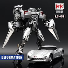 Transformation Sideswipe LS08 LS 08 BMB  Movie Film G1 Model Alloy Voyager Action Figure Robot Toys Gifts