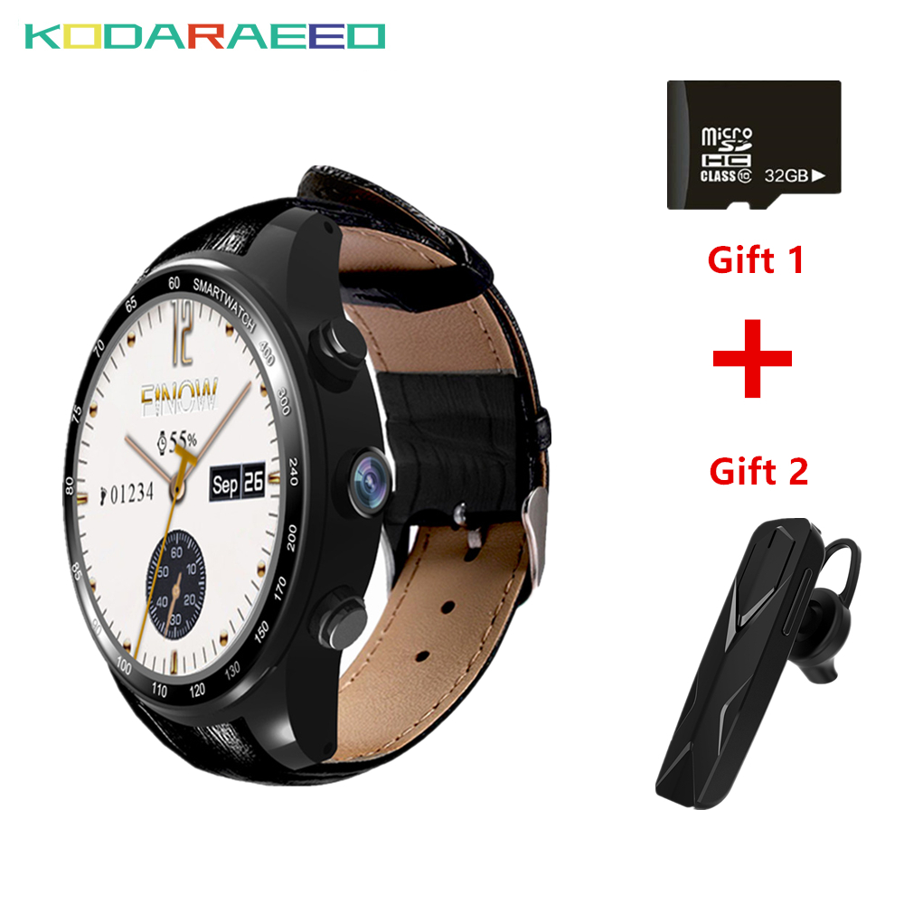 Smart Watch Phone Q7 Plus Android 5 1 Four Core 3 0MP Camera 3G Smartwatch support