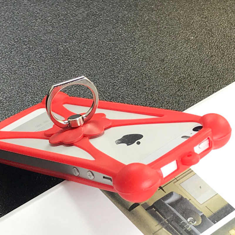 ZTE Blade V10 Vita Case Döndür Yüzük Telefon ZTE için kapak Bıçak L8 kılıfı Evrensel Yumuşak Elephone A6 Pro DEXP G253 fly Hayatı Gökyüzü