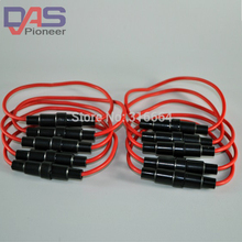 цена на Free Shipping 100PCS/lot  Auto fuse car In-Line waterproof auto Fuse Holder. automotive fuse holder ,  mini car  holder