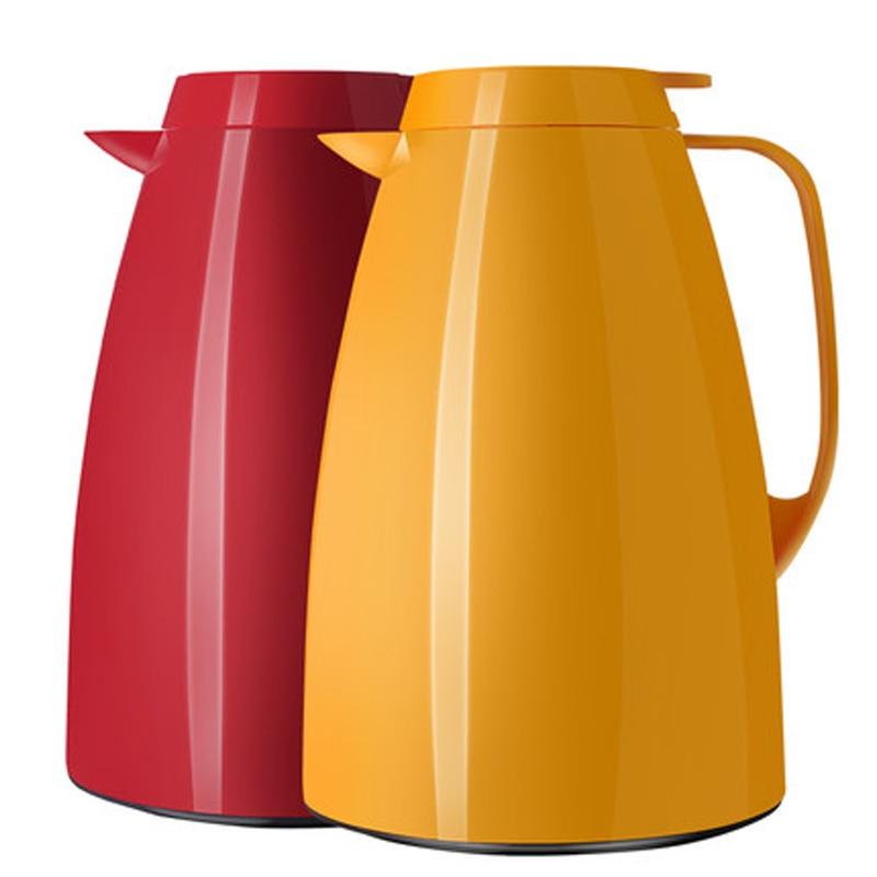 Termokolv 1.5L Dubbla Väggglas Liner Vakuumisoleringspanna Kaffe Vattenkokare Kök Bar Varmvattenflaskor Termokolv