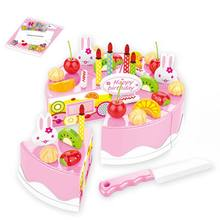 Cake DIY Model Children Kids Early Educational Food Plastic Toys