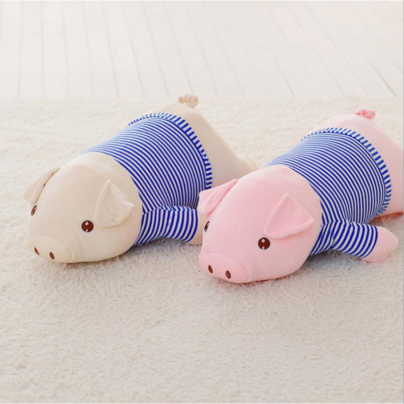Cartoon Lovely Pig Wear Clothe Plush Toy Stuffed Animal Doll Plush Pillow Gift For Children Friends in Stuffed Plush Animals from Toys Hobbies