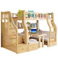 Yatak двухъярусная кровать для дома Letto Matrimoniale Literas Madera Ranza детская мебель для дома Mobili