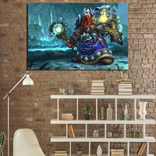 World Of Warcraftes Shaman Canvas Painting Prints Living Room Home Decor Modern Wall Art Posters Pictures Framework HD