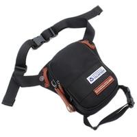 Top Quality Waterproof Oxford Drop Leg Rider Bag Messenger Motorcycle Cross body Bags Male Hip Bum Belt Men Fanny Waist Pack
