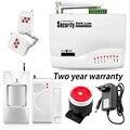 Comercio al por mayor GSM Antena Dual Casa de Alarma de Seguridad de Voz de Triple banda 433/315 Mhz con Ruso Manual 900/1800/1900 MHz sistema de Alarma