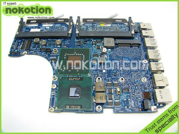 Placa-mãe do portátil para APPLE MACBOOK 1181 T8300 CPU a bordo 2.4 GHz 820-2279-A DDR2 mainboard