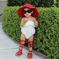 Niño Del bebé Atado A la Cruz Gladiadores Zapatos Niñas Zapatos Mocasines de Cuero Real Suave Recién Nacido bebé Niñas Gladiador Zapatos de Roma