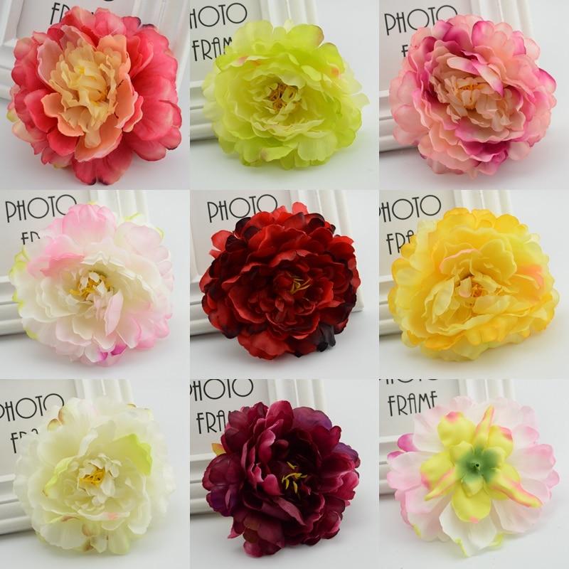 Silk Wedding Flowers In Maryland : Aliexpress buy pcs cheap silk flower peony