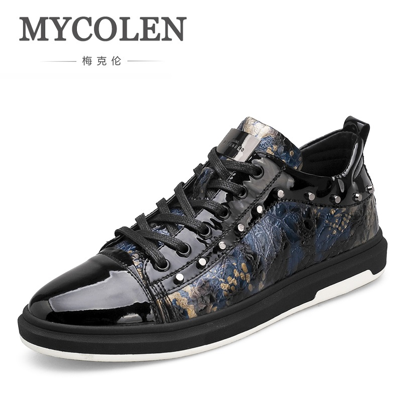 MYCOLEN New Breathable Men Shoes Fashion Casual Sneakers 2018 Light Comfortable Top Quality Men Shoes Tenis-Masculino-Adulto 2017 new spring imported leather men s shoes white eather shoes breathable sneaker fashion men casual shoes