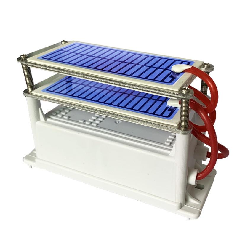 24g Ozone Generator 220V Ozonio Gerador Long Life Ceramic Plate ozontor ozonizador air Water Cleaner Air Purifier