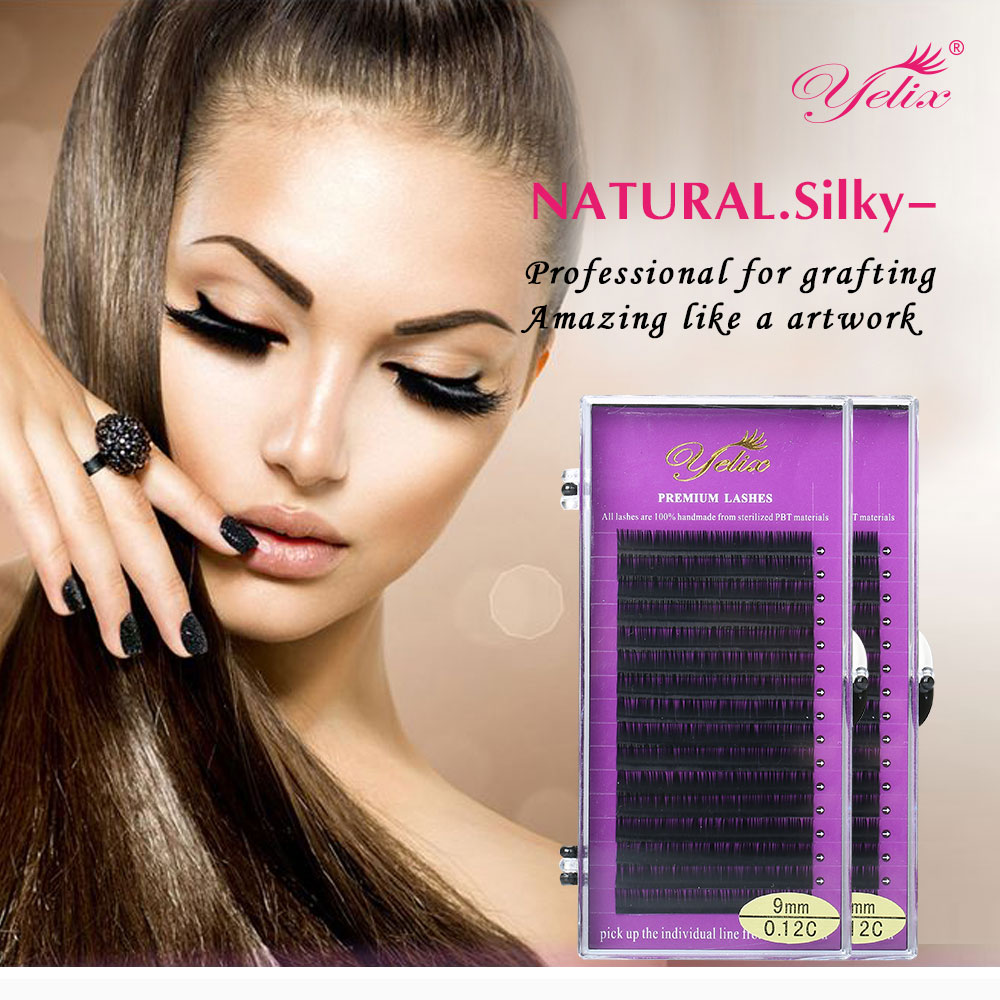 d90f5214c24 Individual False Eyelashes Natural Mink Lashes Fake Eyelash Extension  Makeup Cilios Eyelash Extensions Fake lash 6 PACK-in False Eyelashes from  Beauty ...