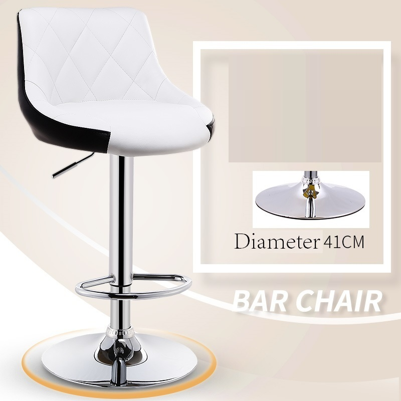 Купить с кэшбэком Taburete Sandalyeler Ikayaa Bancos Moderno Hokery Sgabello Stoel Stoelen Leather Tabouret De Moderne Silla Cadeira Bar Chair