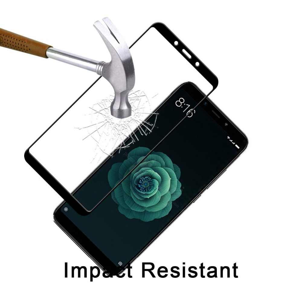 2 шт. закаленное стекло для Xiaomi mi A2 Lite Glas полное покрытие на Xio mi Ksio mi Xao mi Xia mi a2 6X Защитная пленка для экрана безопасности