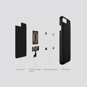 Image 3 - NILLKIN עבור iPhone 6 6 s 7 7 בתוספת טעינה אלחוטי מקלט מקרה מגנטי Qi אלחוטי טעינת מקלט Pad נחושת סליל תיקון