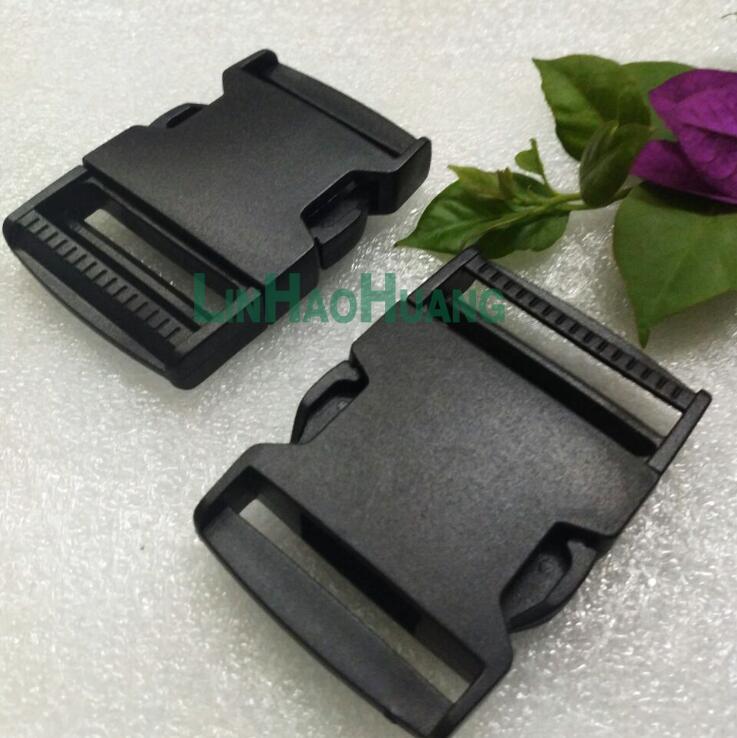 10 개 / 몫 38 미리 메터 블랙 POM 클립 버클 플라스틱 버클 사이드 릴리스 paracord 버클 배낭 가죽 끈 스트랩 무료 배송