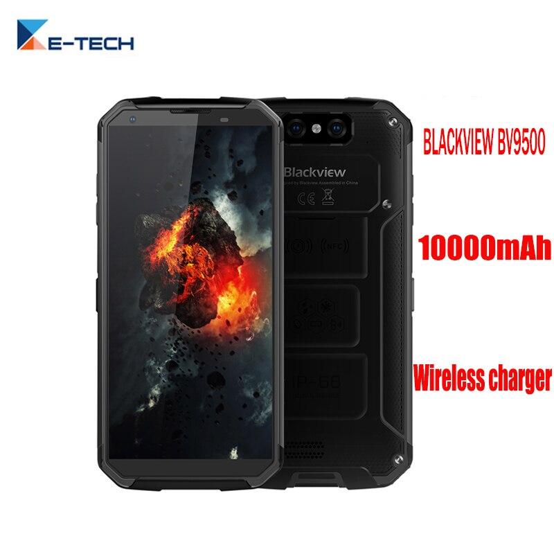"BLACKVIEW BV9500 10000mAh NFC Wireless charger 5.7""18:9"