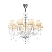 nordic crystal chandeliers and pendants for room dining living room hotel hall bedroom decorative Kitchen suspension luminaire 110v 240v e27 garden style children chandeliers bedroom suspension luminaire