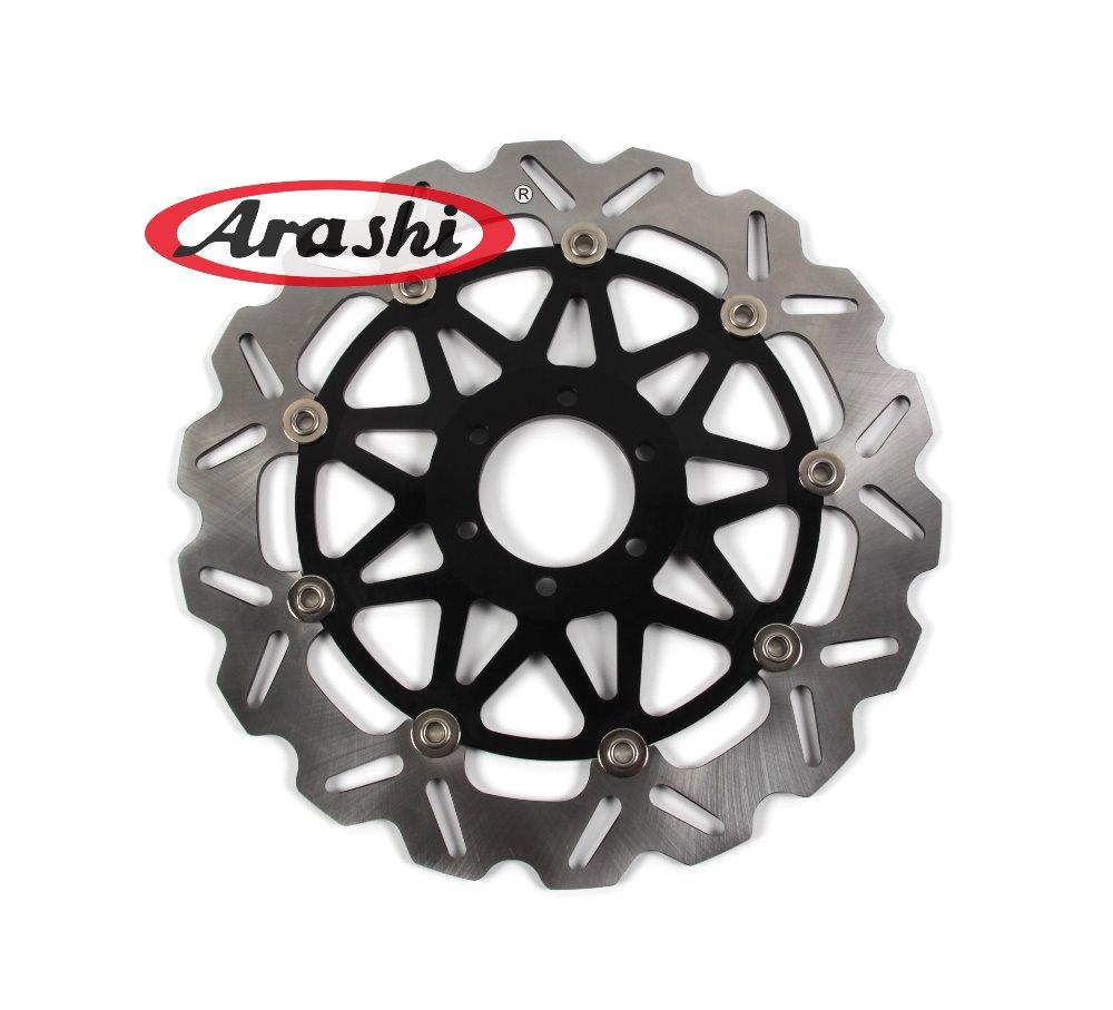 Араши 1шт передние тормозные диски диски для YAMAHA ДТР 250 1989 1990 1991 1992 / автомобиль SRX 400 1991 мотоцикл плавающий диск