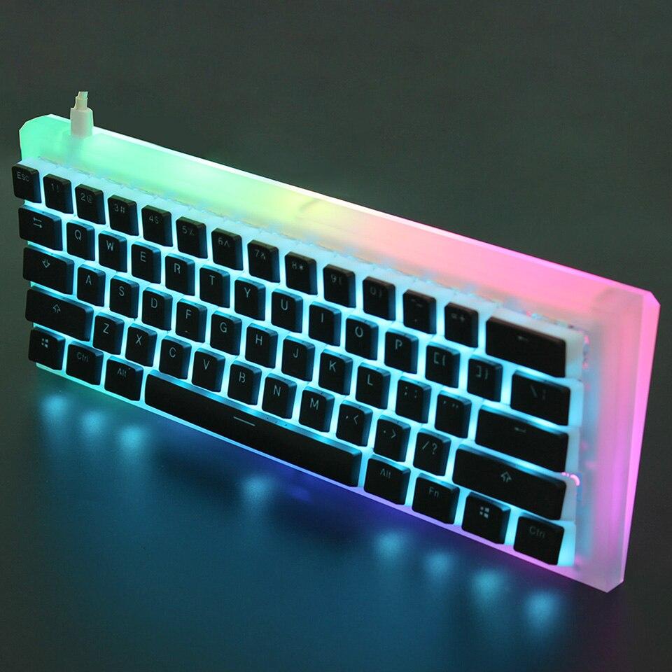 Image 4 - YMDK 108 PBT Double Shot Shine Through ANSI ISO OEM Profile Pudding Keyset For MX Mechanical KeyboardKeyboards   - AliExpress