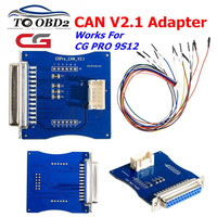 CG Pro 9S12 Key Programmer CAN V2.1 adapter Support for the following engine computer repair for BMW/MT60/MT80 Free shipping
