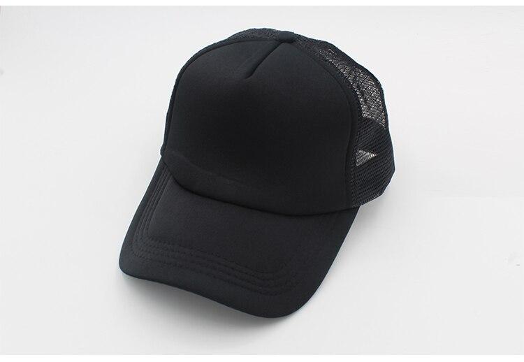 black trucker hat blank trucker hat mesh black caps trucker hat men women (20)