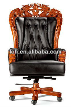 Chinese King Chair Dragon High End Antique Boss Office Foha