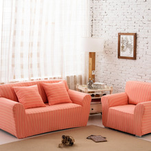 14 Colors Slipcover Stretch Four Season Sofa Covers Furniture Protector Polyester Loveseat Couch Cover Towel Knitted Cotton