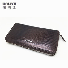 Luxury designer womens genuine leather wallets and purses fashion alligator cow leather clutch wallet women famous brand ladies  brand new women wallet cow leather womens clutch wallets famous designer style hasp long leather female purses free shipping
