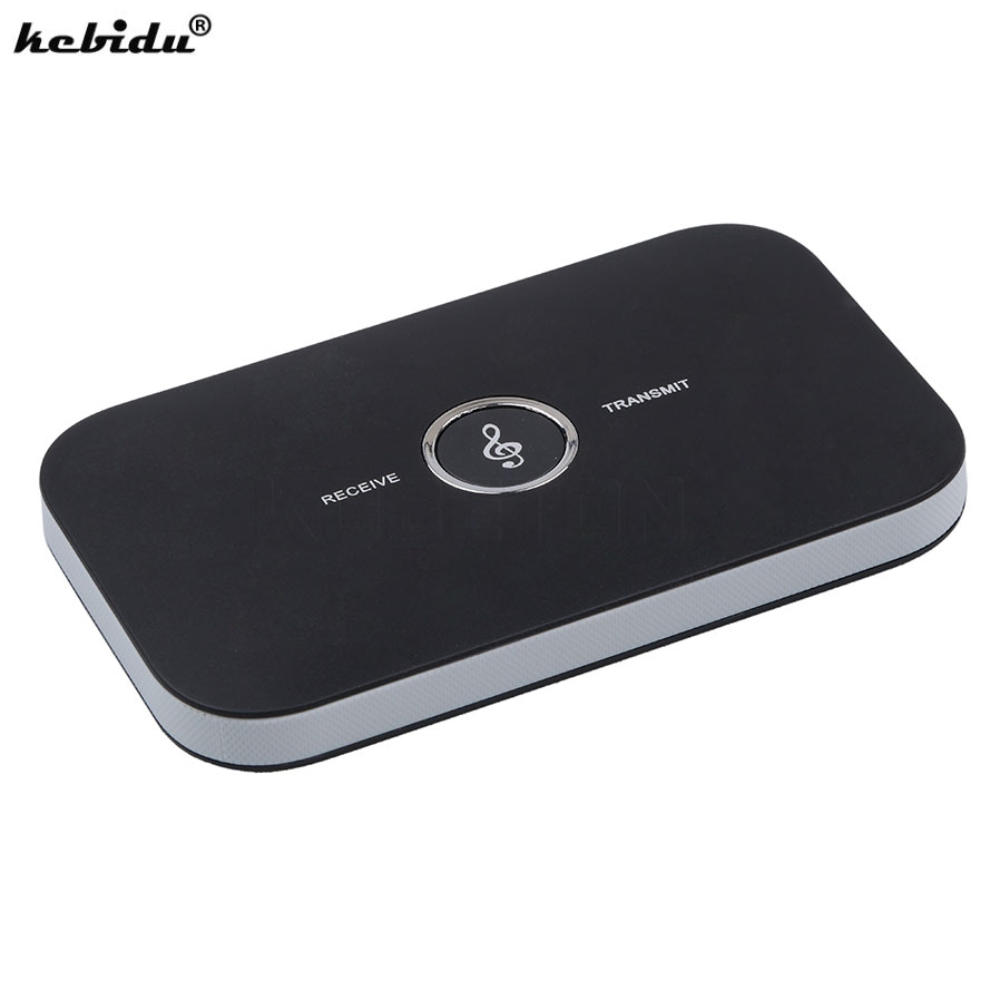 Kebidu 3,5mm 2 In 1 Wireless Bluetooth Empfänger Audio Transmitter Musik Adapter A2dp Tragbare Für Tablet Pc Tv Mp3 Cd Neue Funkadapter Unterhaltungselektronik