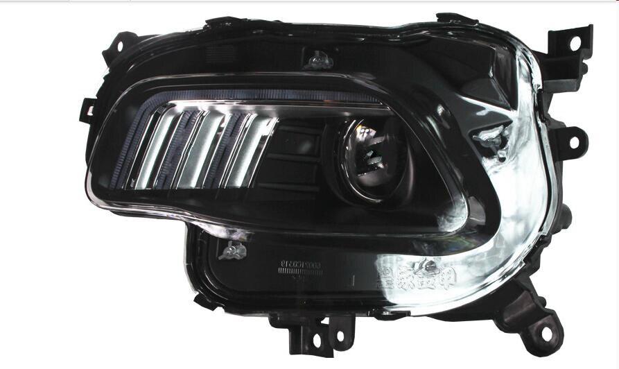 Image 2 - チェロキーヘッドライト、チェロキーフロントライト、 2016 〜 2017 、フィット LHD 、無料船! チェロキーフォグライト、 2 ピース/セット + 2 個バラスト; チェロキーfog lightcherokee headlightlight fog -