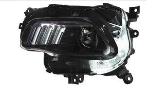 Image 2 - car bumper headlamp Cherokee headlight 2016~2017y LED DRL car accessories HID xenon Cherokee daytime light fog