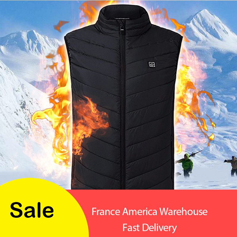 Hot sale Men Women Electric Heated Vest Heating Waistcoat USB Thermal Warm Cloth FeatherWinter Jacket hunting Fishing DropshipHot sale Men Women Electric Heated Vest Heating Waistcoat USB Thermal Warm Cloth FeatherWinter Jacket hunting Fishing Dropship