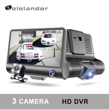 Car Dvr 3 Camera Lens 4 Video Recorder Dash Cam Auto Registrator Dual With Rear View DVRS Camcorder in 1 recorder
