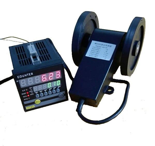 Display Digitale elettronico Meter Counter, Rullo Tipo di Addizione e Sottrazione Reversibile, Misura del Panno Lunghezza H7JC2 + MR2005Display Digitale elettronico Meter Counter, Rullo Tipo di Addizione e Sottrazione Reversibile, Misura del Panno Lunghezza H7JC2 + MR2005