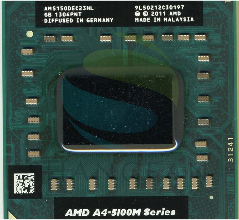 AMD A-series A4 5100M Series A4-5150M A4 5150M AM5150DEC23HL PGA Laptop Notebook CPU Processor Socket FS1